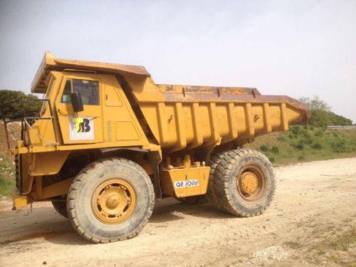 CAT 769C rock truck